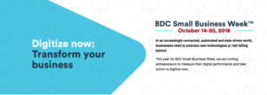 Digitize now: Transform your business - BDC Small Business Week